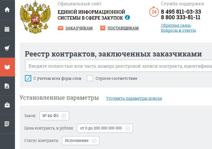 Новые правила ведения реестра государственных контрактов по 44 ФЗ